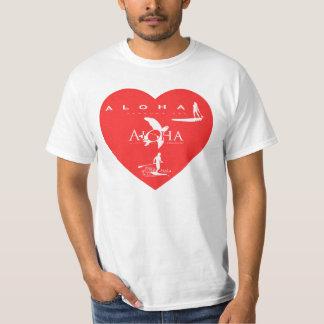 Aloha Hawaii Islands Stand Up Paddle T-Shirt