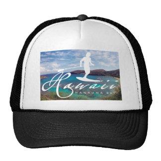 Aloha Hawaii Islands Surfing Trucker Hat