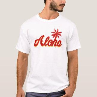 Aloha Hawaii Palm Tree tee