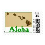 Aloha Hawaii postage #1