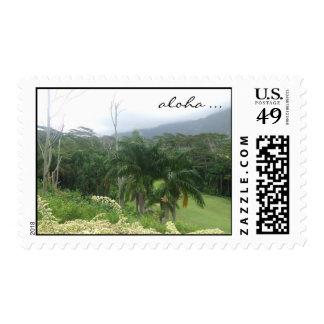 Aloha Hawaii Stamp
