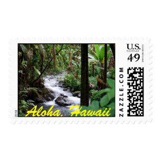 Aloha, Hawaii - The Big Island Postage