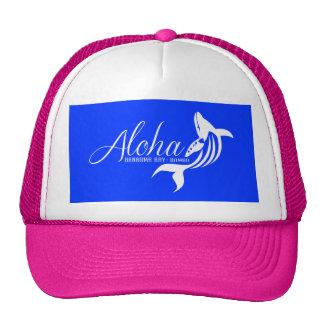 Aloha Hawaii Whale Trucker Hat