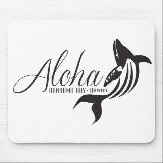 Aloha Hawaii Whale Mouse Pad