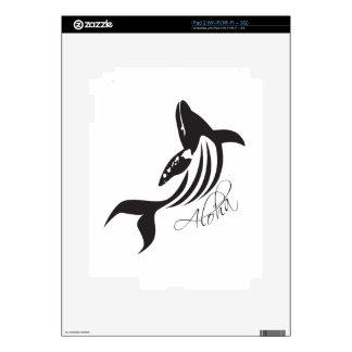 Aloha Hawaii Whale Skin For The iPad 2