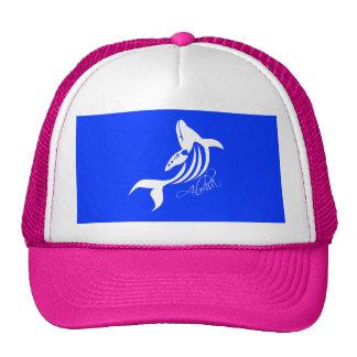 Aloha Hawaii Whales Trucker Hat