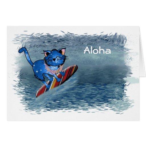 hawaiian christmas cards
