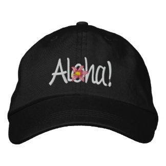 Aloha Hawaiian Embroidered Cap Embroidered Hat