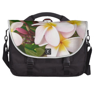 Aloha Hawaiian Frangipani Blossoms Plumerias Commuter Bag