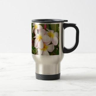 Aloha Hawaiian Frangipani Blossoms Plumerias Mug