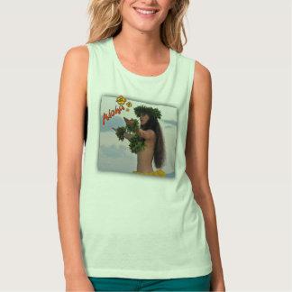 Aloha - Hawaiian Girl / Dancer T-Shirt