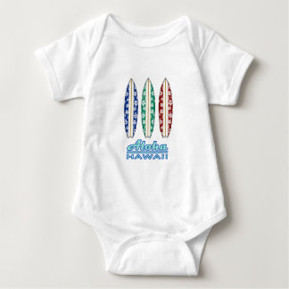 ALOHA - Hawaiian Surfboards Baby Bodysuit