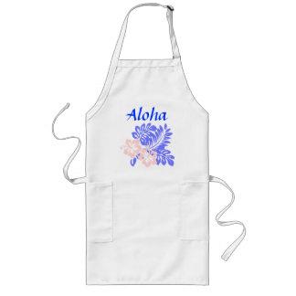 Aloha hibiscus apron