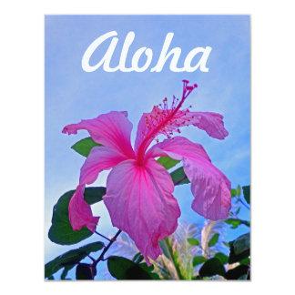 Aloha Hibiscus Card