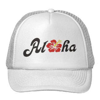 Aloha Hibiscus - flat Hawaii design + your ideas Trucker Hat