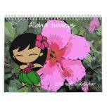 """""""Aloha Honeys"""" 2010 Calendar"""