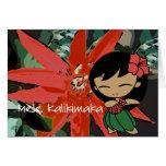 """""""Aloha Honeys"""" Christmas Card"""