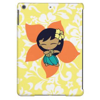 Aloha Honeys Hula Girl Hibiscus iPad Air Case