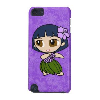 Aloha Honeys Hula Girl Hibiscus iPod Touch Cases