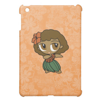 Aloha Honeys Hula Girl Hibiscus s iPad Mini Cover