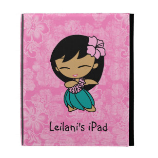 Aloha Honeys Hula Girl iPad Folios iPad Cases