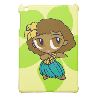 Aloha Honeys Hula Girl iPad Mini Covers