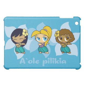 Aloha Honeys Hula Girl s iPad Mini Case