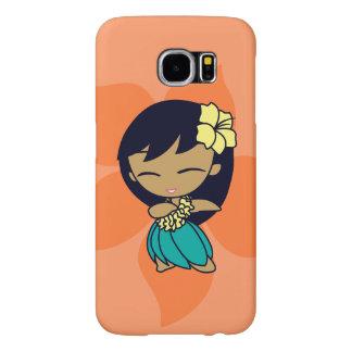 Aloha Honeys Hula Girl Samsung Galaxy S6 Cases