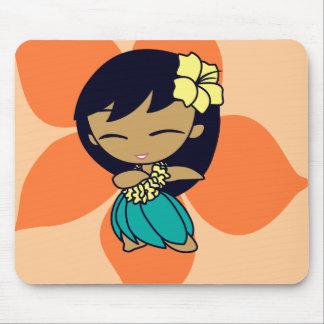 """""""Aloha Honeys"""" Mousepad in lt. peach"""
