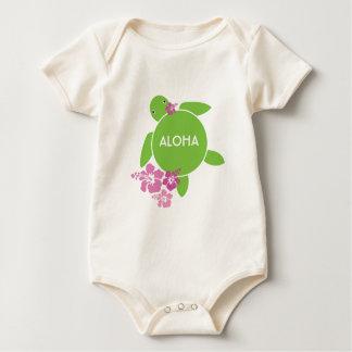 Aloha Honu Infant Organic Creeper / Bodysuit