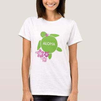 Aloha Honu Ladies Baby Doll (Fitted) Tshirt