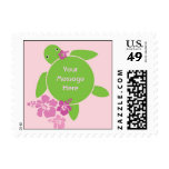 Aloha Honu US Postage Stamp - Pink