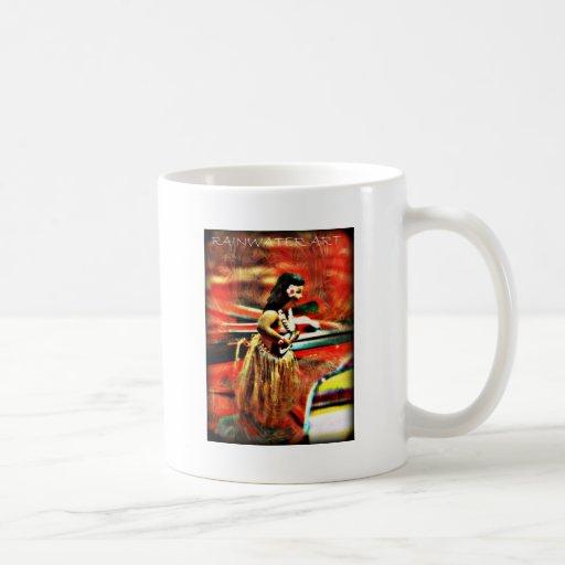 Aloha Hula Girl Coffee Mug
