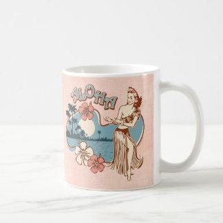 Aloha Hula Girl Mug