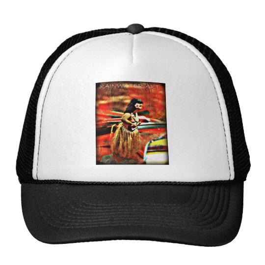 Aloha Hula Girl Trucker Hat