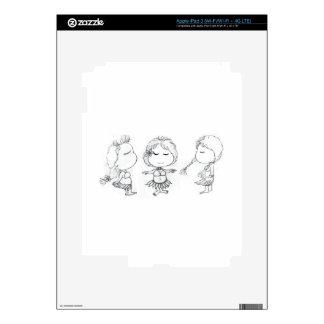 Aloha Hula Girls iPad 3 Decals