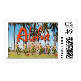 Aloha Hula Postage