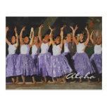 Aloha Hula Postcard