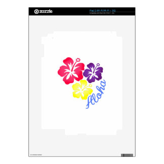 Aloha iPad 2 Skins