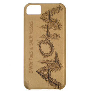 ALOHA iPhone, Sandy Toes & Salty Kisses Cover For iPhone 5C