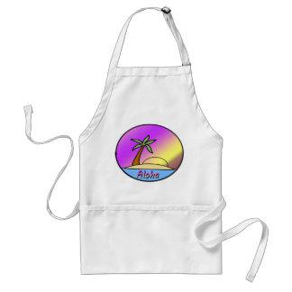 Aloha Island Adult Apron