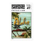 Aloha Island Postage Stamp