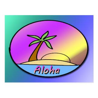 Aloha Island Postcard
