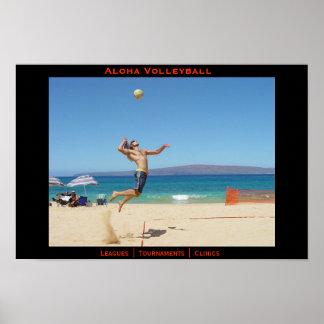Aloha Jump Serve Print