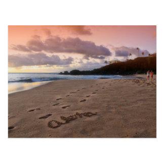 Aloha Kaanapali Beach Postcard