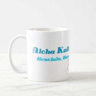 Aloha Knitters Mug mug
