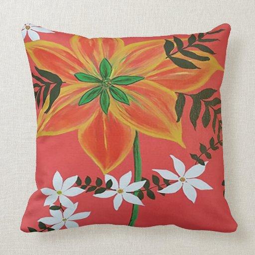 How Big Should Throw Pillows Be : Aloha (Large pillow) Throw Pillow Zazzle