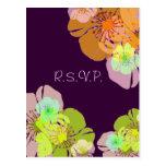 Aloha/las postales de Luau RSVP, porque 5x7 invita