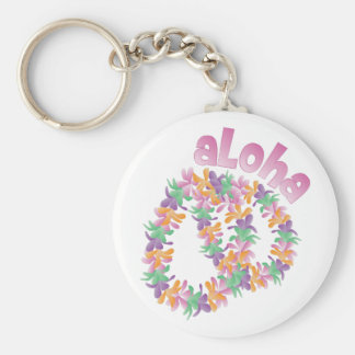 Aloha Lei Keychain