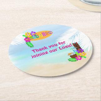 Aloha Luau Drink Coasters